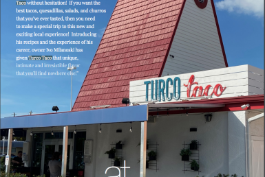 Fine Magazine features Turco Taco